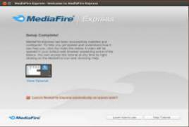 MediaFire Desktop MediaFire Express 1